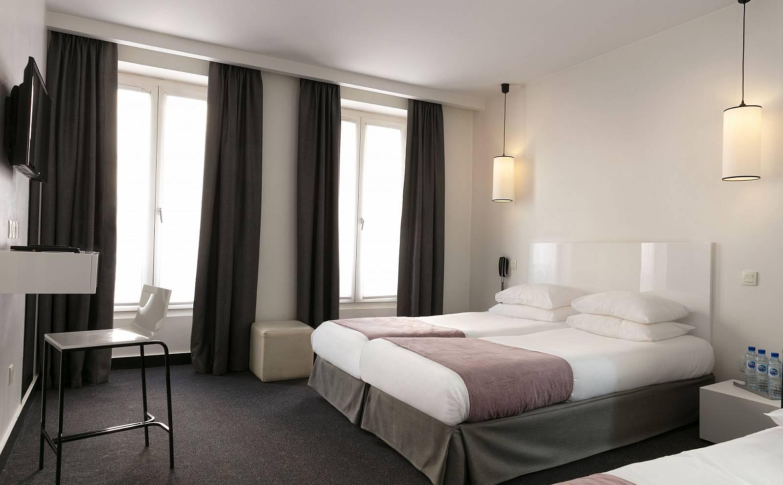 chambres standard design h tel h tel paris bastille On standard design hotel paris bastille